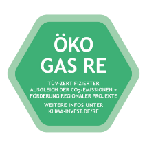 Siegel Öko Gas RE